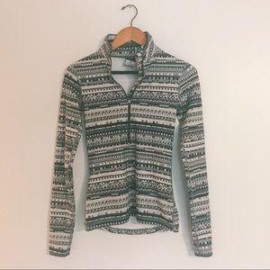 [Nike] Quarter Zip Jacket Shirt Aztec Pattern